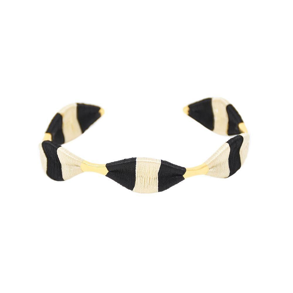 Mishky Serpentine Bracelet - Black/White