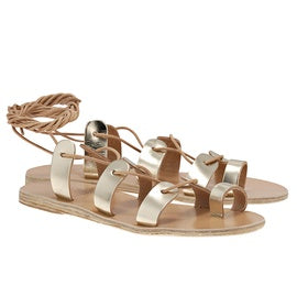Ancient Greek Sandals Alcyone - Platinum