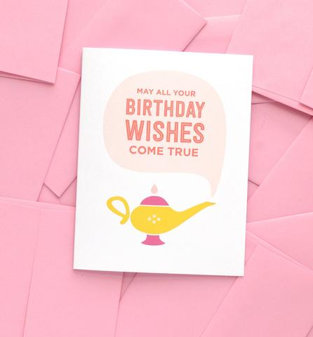 Graphic Anthology - Magic Lamp Birthday Card