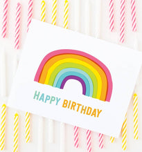 Load image into Gallery viewer, Graphic Anthology - Rainbow Birthday Card