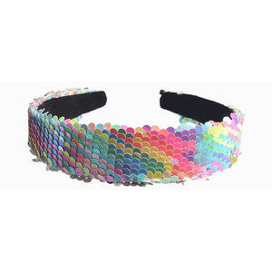 Lily and Momo Sequin Headband - Jelly Bean
