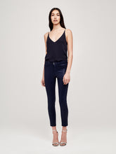 Load image into Gallery viewer, L'Agence Margot High-Rise Skinny Coated Jean - Navy