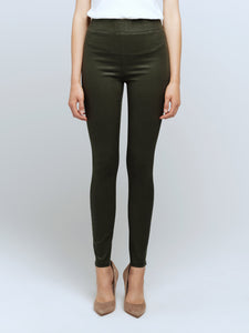 L'Agence Rochelle Coated Jean - Army Green Coated