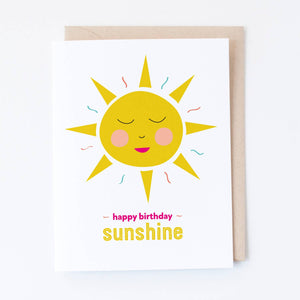 Graphic Anthology - Birthday Sunshine