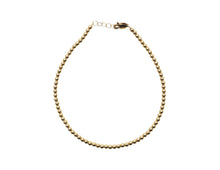 Load image into Gallery viewer, Karen Lazar 3MM Yellow Gold Filled Anklet