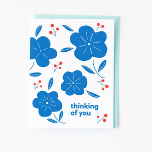 Graphic Anthology - Blue Floral