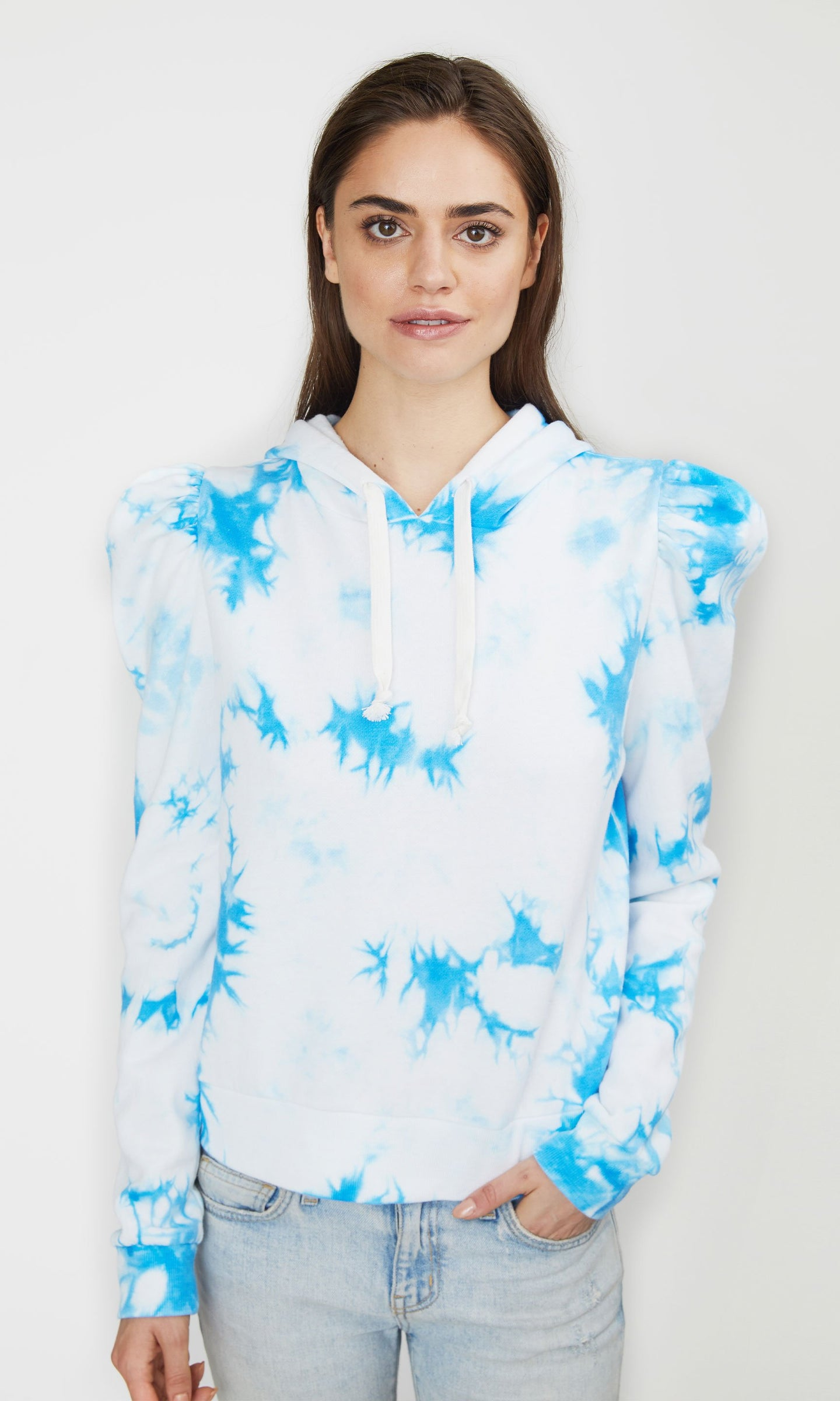Generation Love Carla Hoodie - Blue/White