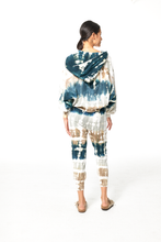 Load image into Gallery viewer, Young Fabulous & Broke Monroe Sweatshirt - Deep Teal Geode Wash