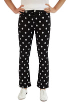 Load image into Gallery viewer, 7 for all Mankind High Waist Slim Kick - Black & White Polka Dot
