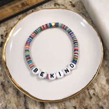 Load image into Gallery viewer, Cristina V. BE KIND Bead Bracelets - Gold Filled, Silver, Multi