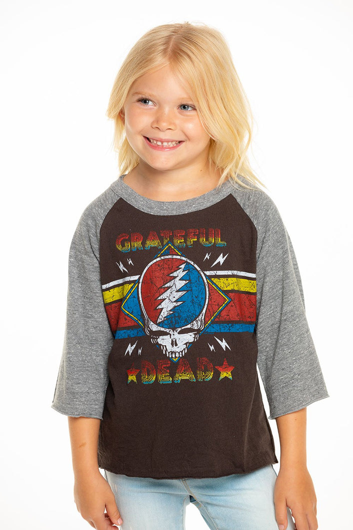 Chaser Kids Grateful Dead Baseball Tee