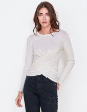 Load image into Gallery viewer, Sundry Twist Front Longsleeve - Vanilla