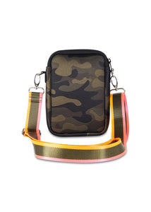 Haute Shore Casey Green Camo/Pink Orange Stripe