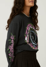 Load image into Gallery viewer, Daydreamer Grateful Dead Space Face Oversized Long Sleeve