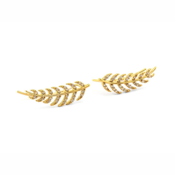 Tai Pave Feather Ear Climber - 2 Colors
