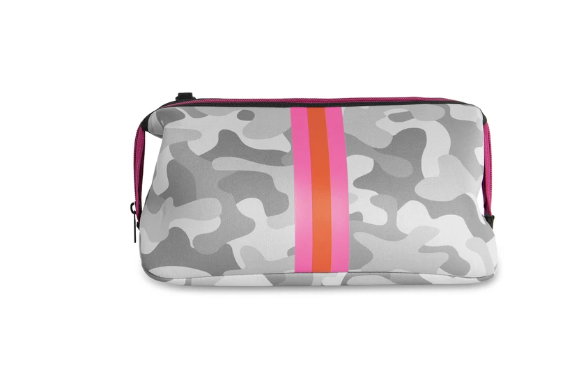 Haute Shore Erin - White Camo w/Pink Orange Stripe
