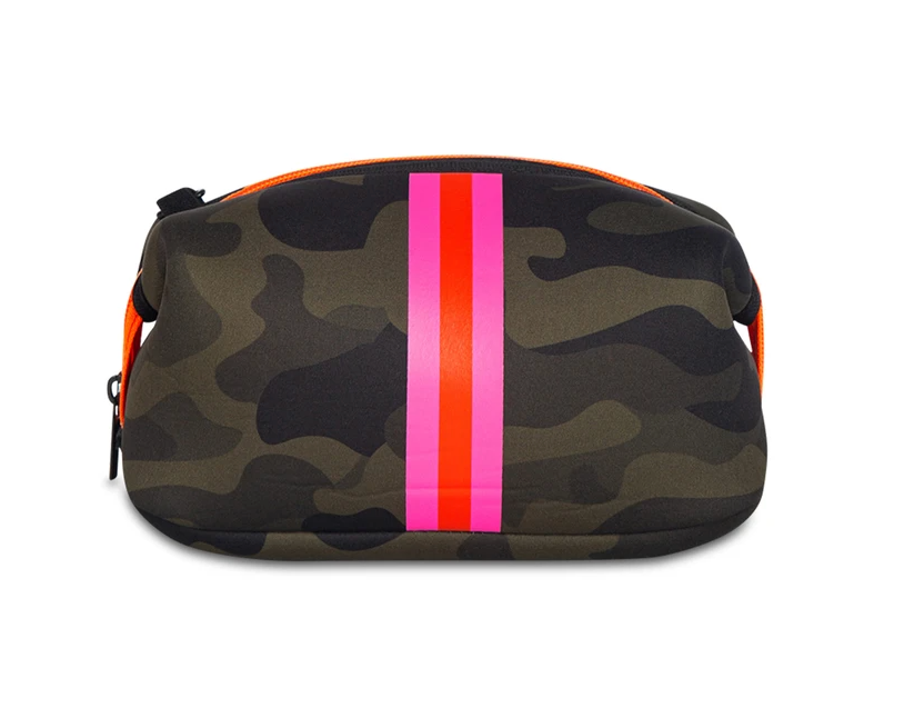 Haute Shore Erin - Green Camo/Pink Orange Stripe