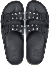 Load image into Gallery viewer, Cacatoès Sandals - Black Studs