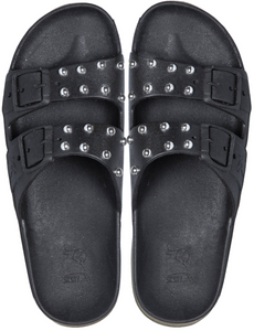 Cacatoès Sandals - Black Studs