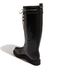 Load image into Gallery viewer, Ilse Jacobsen Knee High Rubber Rain Boot - Black