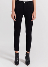 Load image into Gallery viewer, Current Elliott The High Waist Stiletto Jean - Clean Black