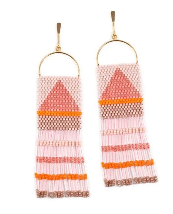 Bluma Project Cie Earrings - Rosado