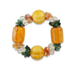 Roller Rabbit Gab Bracelet - Yellow Multi