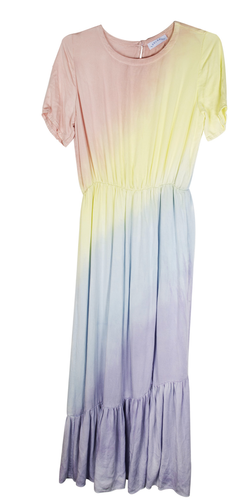 Leelanau Lady Margaret Dress - Tie Dye Ombre