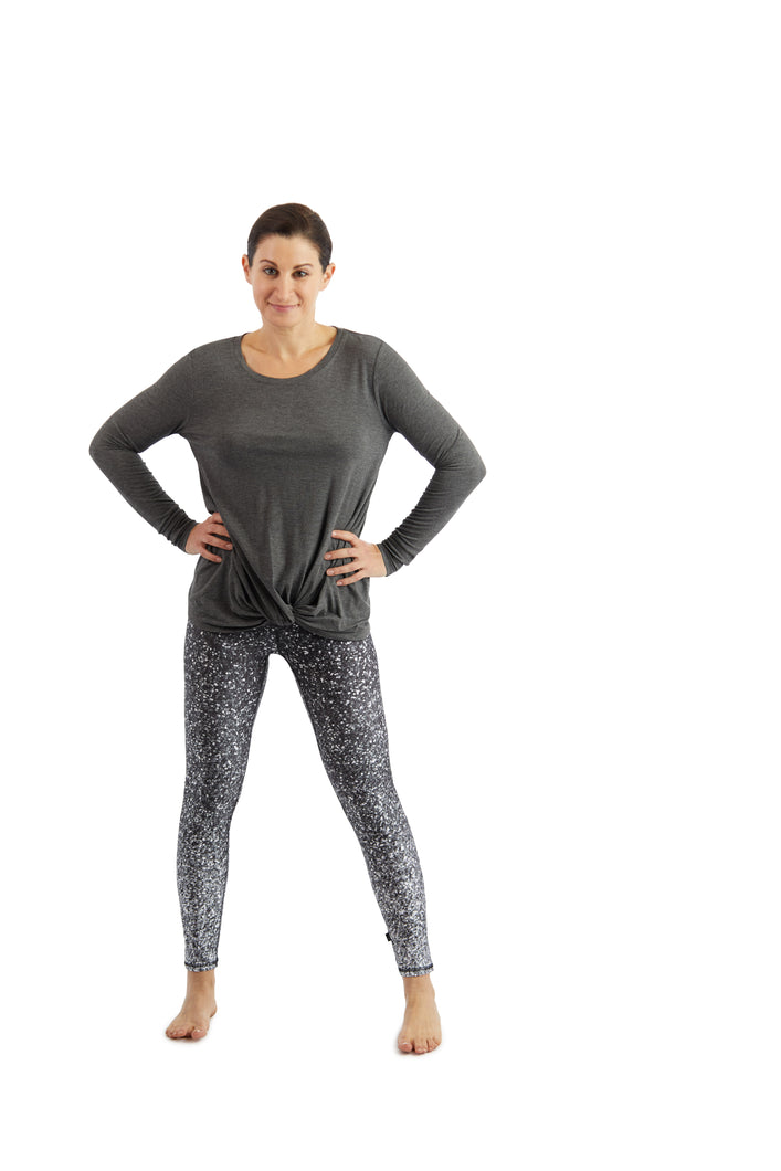 Terez Performance Leggings - Glitter