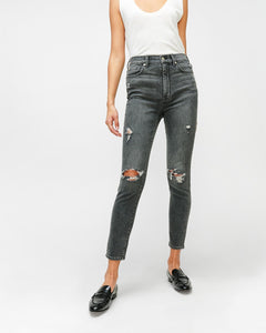 7 For All Mankind High Waist Ankle Skinny - Silverlake Blvd