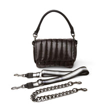 Load image into Gallery viewer, Think Royln Bar Bag - Shiny Black