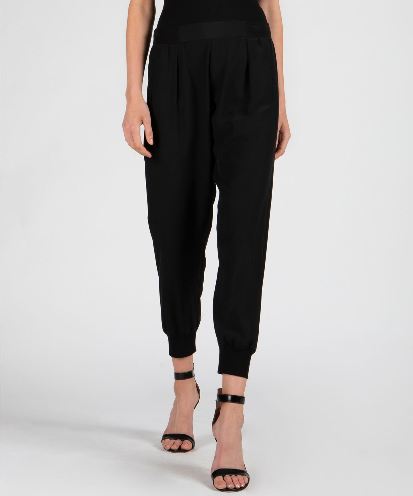 ATM Silk Sweatpants - Black