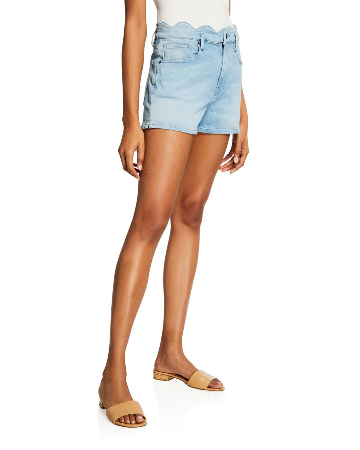 FRAME Scallop Edge Short - Wright