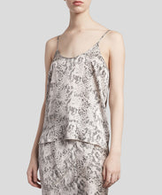 Load image into Gallery viewer, ATM Silk Snake Printed Cami - HAZE/PAVEMENT COMBO