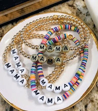 Load image into Gallery viewer, Cristina V. MAMA Bead Bracelets