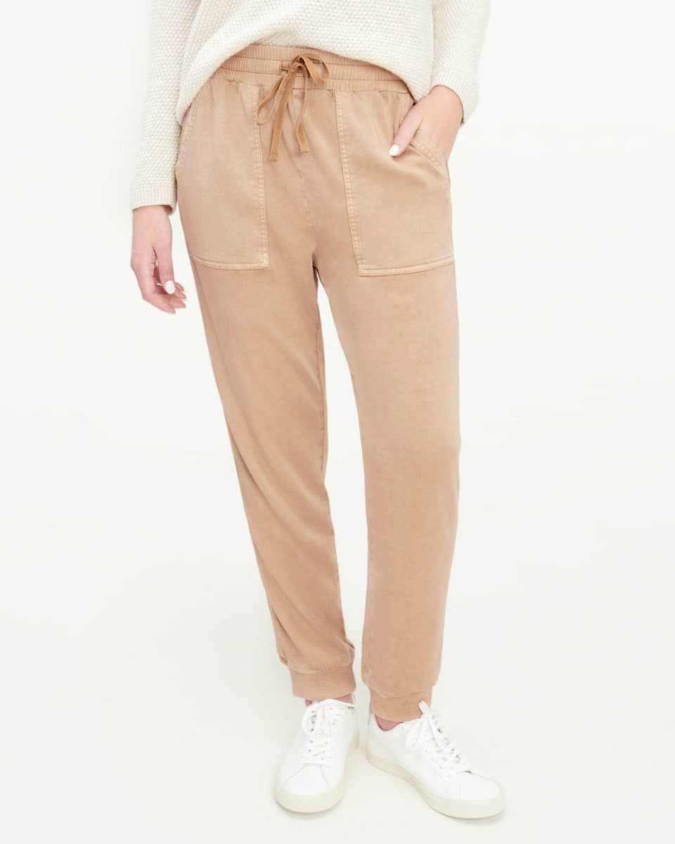 Splendid Stretch Sateen Lakeside Jogger