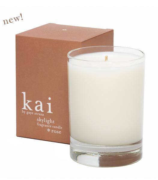Kai Skylight Fragrance Candle - Rose