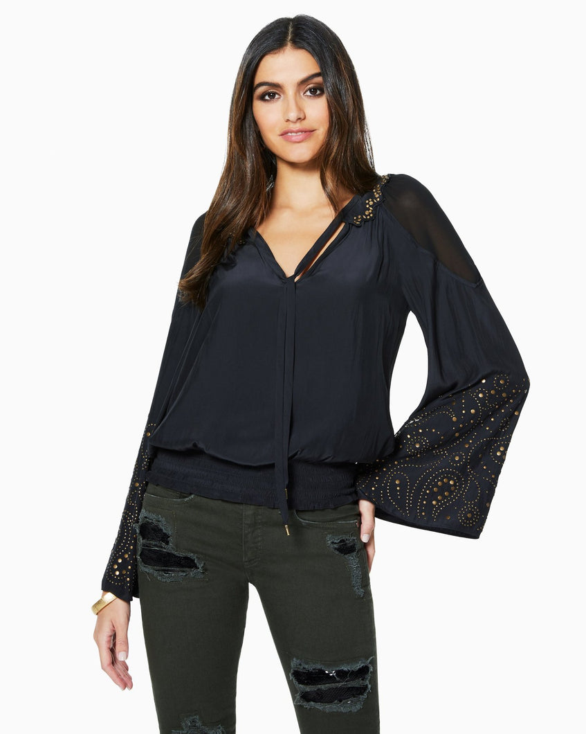 Ramy Brook Tilly Top - Black