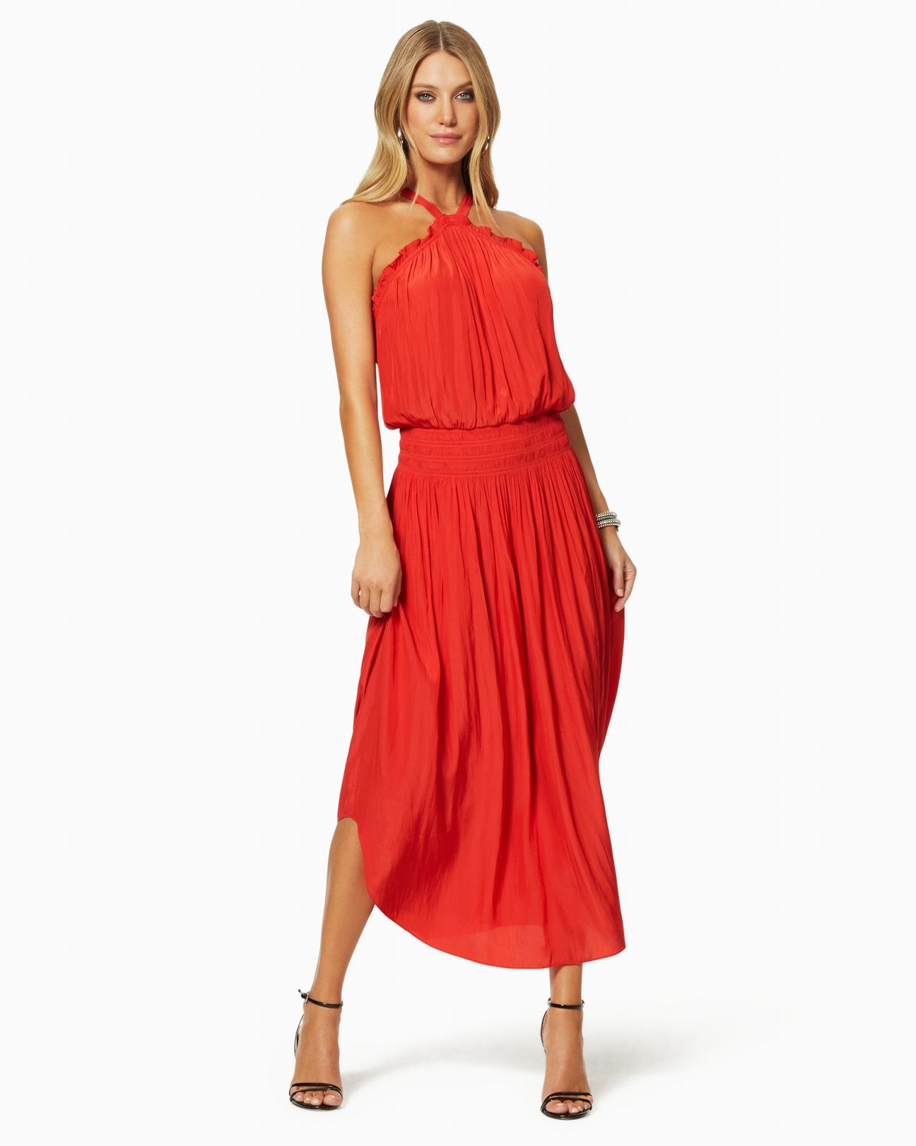 Ramy Brook Chloe Dress - Bright Red