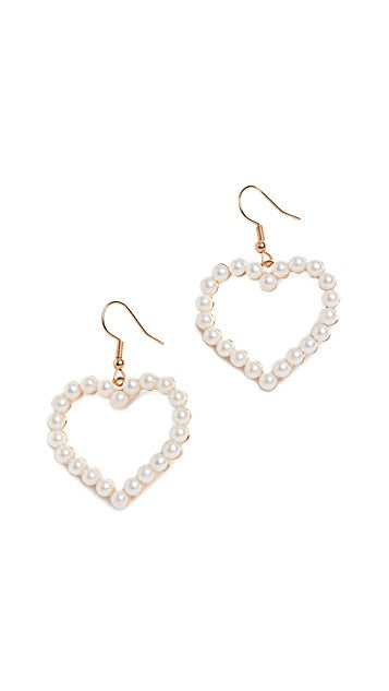 Shashi Pearl Amore Earrings