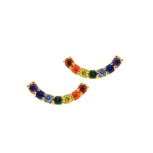 Tai Rainbow Arc Stud