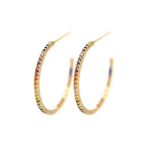 Tai Medium Rainbow Hoop