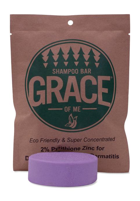 2% Pyrithione Zinc - Lavender Shampoo Bar with Shea Butter