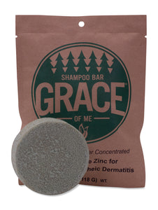 Shampoo Bar - Peppermint with Shea Butter (Regular or Dandruff Bar)