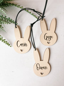 Simple Bunny Tag