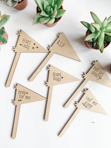 Plant Markers - Pennants