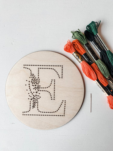Alphabet Embroidery Kit