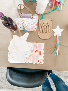 DIY RAINBOW PENNANT KIT