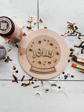 "Load image into Gallery viewer, DIY ""Jolly Snowglobe"" sign kit"