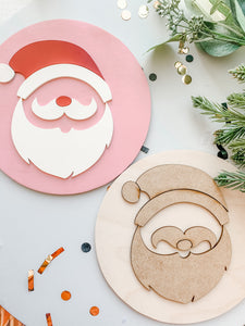 DIY HAPPY SANTA KIT
